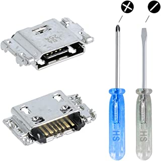 MMOBIEL Dock Connector Power Socket Jack Compatibile con Motorola Moto G5 Plus 5.2 Pollici incl. cacciavite