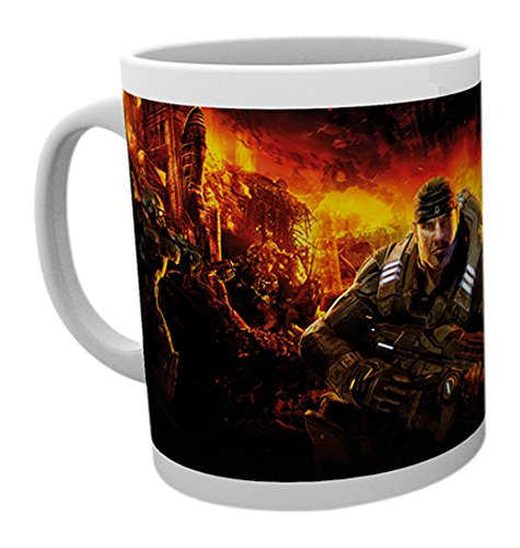 GB Eye LTD, Gears of War, Key Art 4, Taza de Ceramica