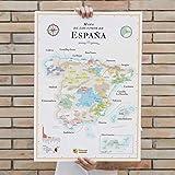 Carte des Vins d'Espagne