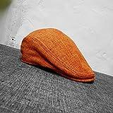 Sombrero de Doble Uso para Hombre Boina Sombrero de Hiedra Boina de algodón y...