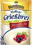 Mondamin Lieblings-Grießbrei Klassische Art 8 x 89g