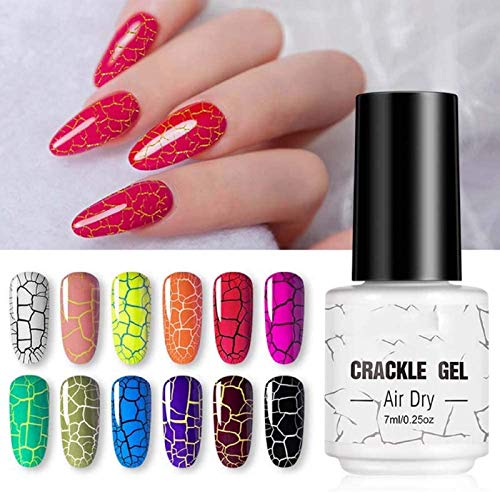 Crackle Gel Nagellack, Nagel verschwinden junge DIY Nail Art Design F