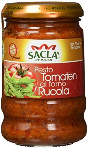 Sacla Tomaten al Forno plus Rucola, 6er Pack (6 x 190 g)