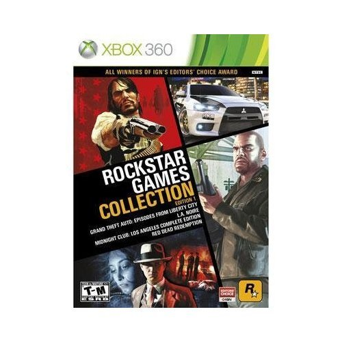 Brand New Take-Two Rockstar Games Collection