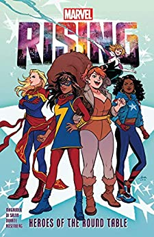 Marvel Rising: Heroes Of The Round Table (Marvel Rising (2019)) by [Nilah Magruder, Roberto di Salvo, Audrey Mok, Rob Di Salvo]