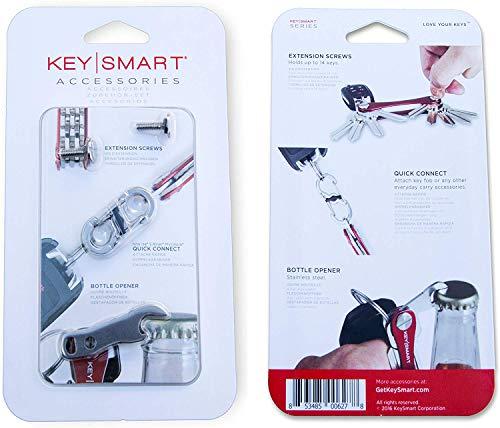 Key Smart KS231 Porte-clés, Homme, Argent, Taille Unique