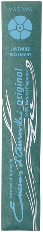 ウィザード打ち上げるミリメートルマロマ オリジナル ラベンダー アンド ローズマリー (MAROMA ORIGINAL LAVENDER & ROSEMARY) 10本(25g) お香