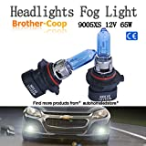 GP Thunder 7500K 9005XS HB3A 12V 65W Halogen Bulbs Xenon White for Chrysler, Dodge, Cadillac Cts , Jeep Car High Beam