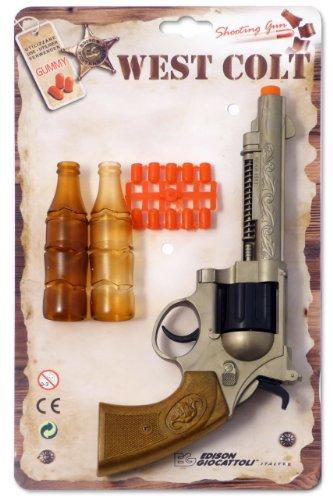 Edison E0465/32 - Pistola Giocattolo Western-Line West Colt 28 cm