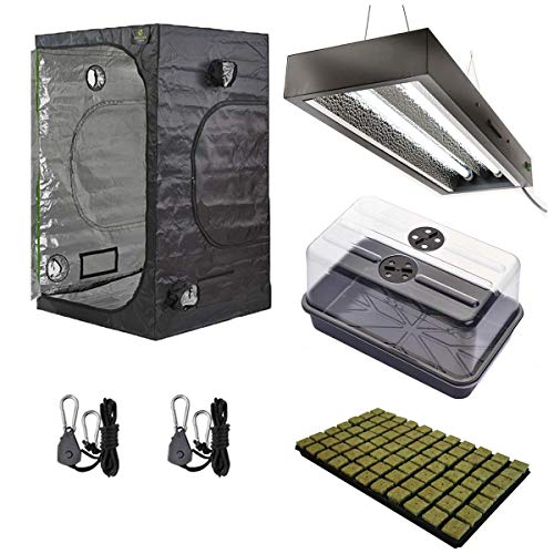 Hydroponic Complete 80 x 80 x 180 cm Small Budget Tent Kit CFL Lamp Holder