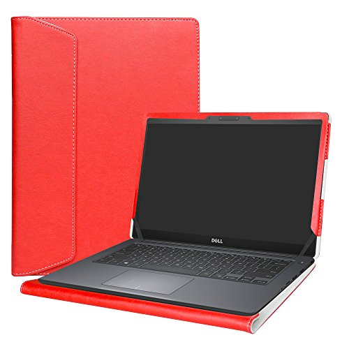 Alapmk Protective Case Cover For 14' Dell Latitude 14 7490 7480 Series Laptop,Red