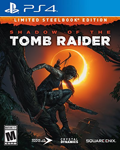 Shadow of the Tomb Raider Limited Steelbook Edition - Ps4