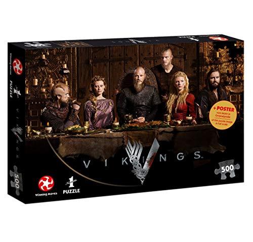 Vikings Ragnar's Court. Puzzle 500 Teile