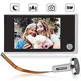 Ring Door View Cam,Digitaler Türspion, 3.5 Zoll LCD Farbbildschirm Digital 120 Grad...