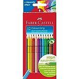 Faber Castell 112412 - Farbstifte Colour Grip, 12 Stück im Kartonetui