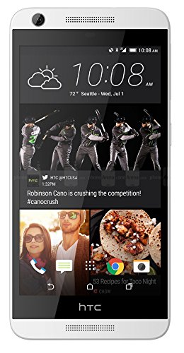 HTC Desire 626 16GB Unlocked GSM 4G LTE 5' HD Display Quad-Core Android Smartphone w/ 8MP Camera -...