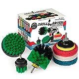 Suministros de Limpieza Drillbrush- Kit accesorio de fresadora- plataformas de perforació...