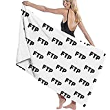 zhengshaolongG Toalla de baño FTP Sand Free Quick Dry Beach Towel Microfiber Sports Pool Lightweight Thin Towels for Swimming,Yoga,Camping and Outdoor Girls Women Men Adults 130X80CM