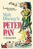 Walt Disney Peter Pan 1953 - Extra Large - Semi Gloss Print