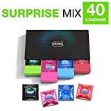 Durex Surprise Me Kondome in stylischer Box – Aufregende Vielfalt, praktisch & diskret verpackt -...