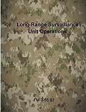 Long-Range Surveillance Unit Operations: FM 3-55.93 (U.S. Army Field Manuals)