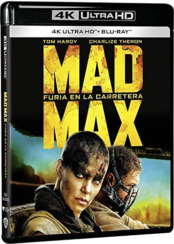 Mad Max: Furia en la carretera 4k Uhd [Blu-ray]