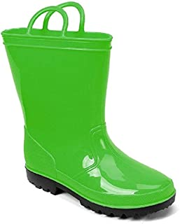 SkaDoo Kids Rain Boots Toddler/Little Kid/Big Kid Sizes Assorted Colors