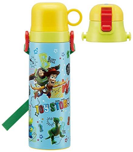 avec Patineur pour Les Enfants 2Way Tasse de Bouteille d'eau en Acier Inoxydable Toy Story Disney SKDC6