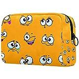 Bolsa de maquillaje personalizada para brochas de maquillaje, bolsas de aseo portátiles para mujeres, bolso cosmético, organizador de viaje divertido