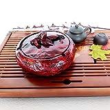Cenicero KEWEI de personalidad creativa multifuncional cubierta grande dormitorio sala de estar estilo europeo de los antiguos adornos prácticos, Xiangqi, color: Xiangqi Imitación de caoba