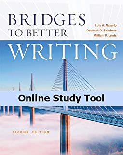 Interactive eBook for Nazario/Borchers/Lewis' Bridges to Better Writing, 2nd Edition