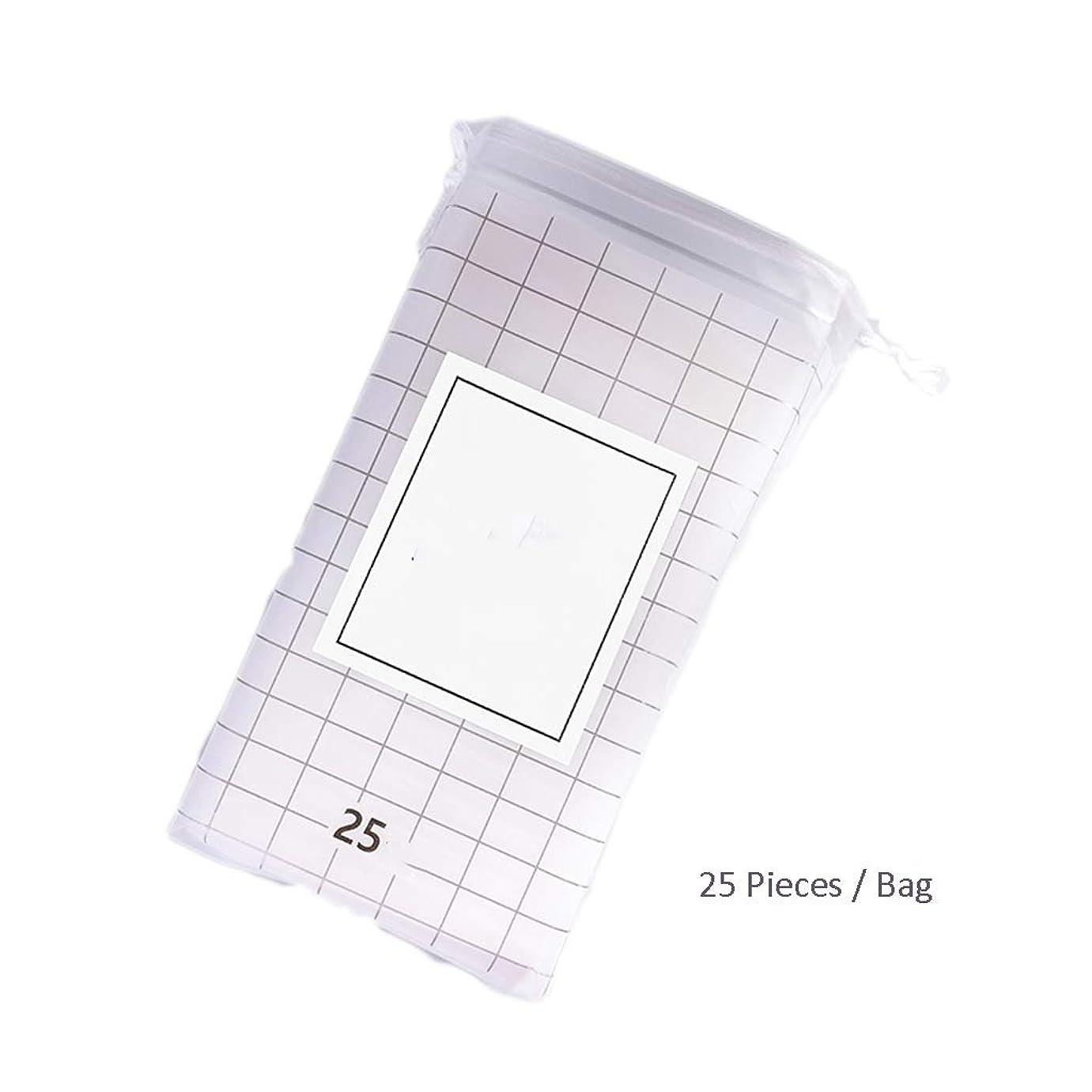 袋色浸食クレンジングシート メイクアップフェイシャルカットコットンクレンジングタオルコットンタオルドライ&ウェットクレンジングタオル使い捨てクレンジングタオル (Color : A, サイズ : 20*24cm)