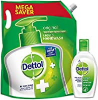 Dettol Original Germ Protection Handwash Pack