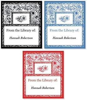 book labels personalized