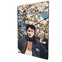 【2021新款】長野博 掛け絵 タペストリー ポスター アートパネル アートフレーム 木製の枠 キャンバス 絵画 キャンバスアート インテリア 壁飾り 壁掛け 壁ポスター 現代絵画キャンバス絵画30*45cm