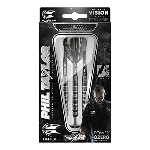 Target Darts Phil Taylor Power 8-Zero, Black P8Z3 - 4