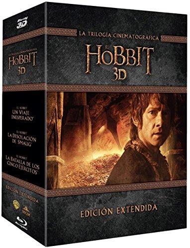 Trilogia El Hobbit Extendida Blu-Ray 3d [Blu-ray]