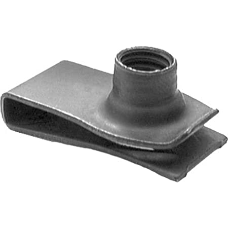 25 Extruded U Nuts 5//16-18 Screw Size Compatible with GM 10008002 and Ford 45268-S2
