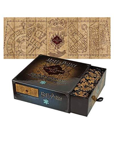 Karte des Rumtreibers Puzzle mit 1.000 Teilen - Harry Potter