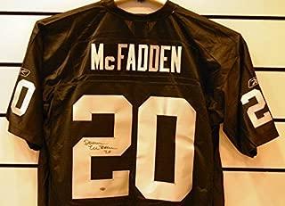Darren McFadden Autographed Oakland Raiders Jersey.