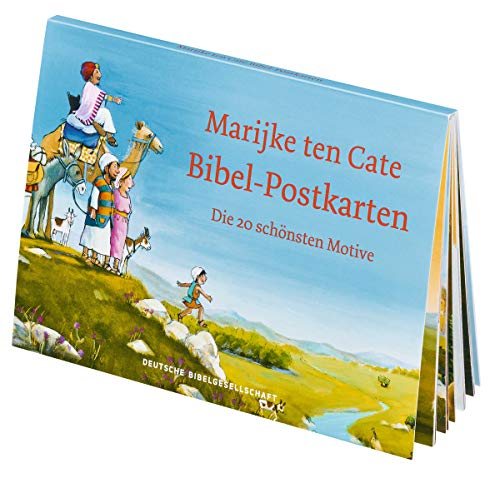 Marijke ten Cate Bibel-Postkarten: Die 20 schönsten Motive