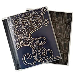 CocoPolka 8×10 Photo Albums Pack of 2 – Each Large Format Flexible Photo Album Holds Up to 48 8×10 Photos in Black…