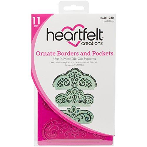Heartfelt Creations Cut und Relief stirbt mehrfarbig 21,59/x x x 0,38/cm