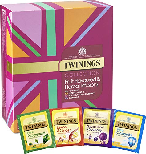Twinings Herbal Infusions Variety Gift Pack (40 Teabags), Perfect Alternative Easter Present