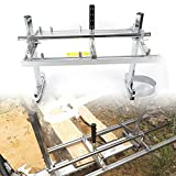 OUKANING Chainsaw Mill Mobiles Sägewerk Holz Motorsäge für 14''bis 24''