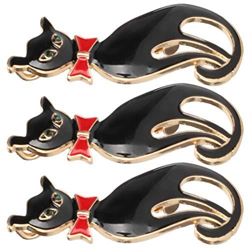 Broche de Gato, Lindo Broche de Gato, Adornos, alfiler de Solapa, Insignia de Gato Lindo, para ferias comerciales, conmemoraciones de Viajes