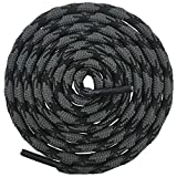 Best Boot Laces - DELELE 2 Pair Round Wave Non Slip Outdoor Review