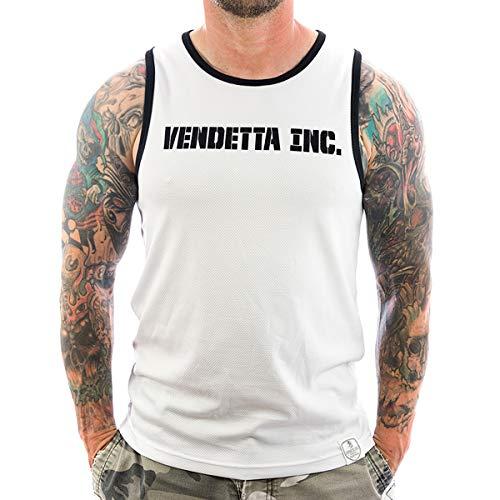 Vendetta Inc. Shirt Herren Männer Tank Top Inc. Sports 6001 weiß (S)