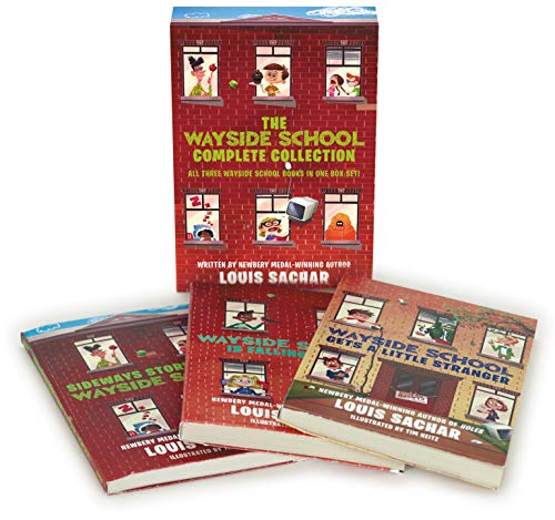 The Wayside School Collection Box Set: Sideays Stories from Wayside School, Wayside School Is Falling Down, Wayside School Gets a Little Stranger