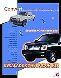 IPCW CWV-02ESC Escalade Front End Conversion Kit for Chevrolet Silverado - 19 Piece